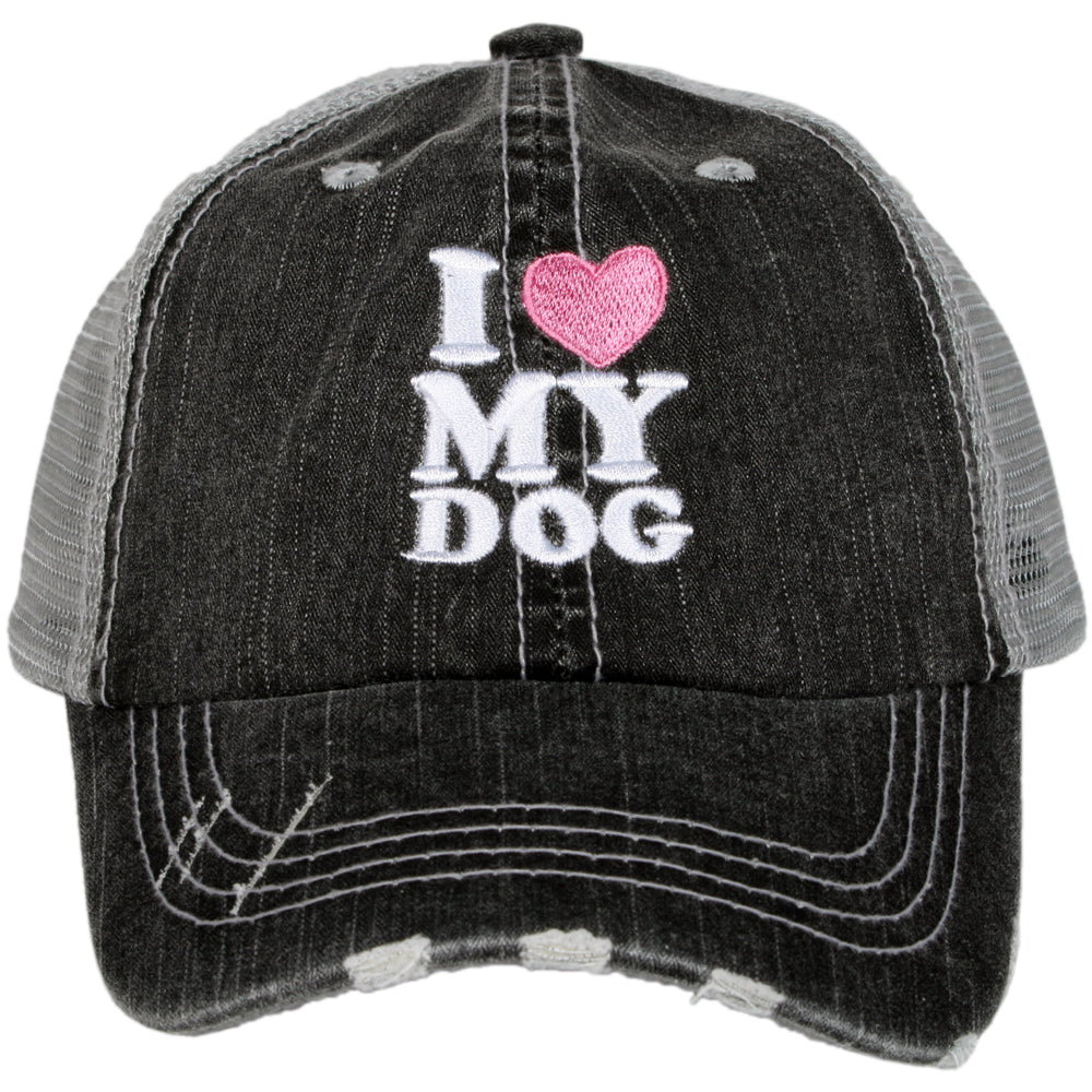 Katydid I Love My Dog Wholesale KIDS Hats