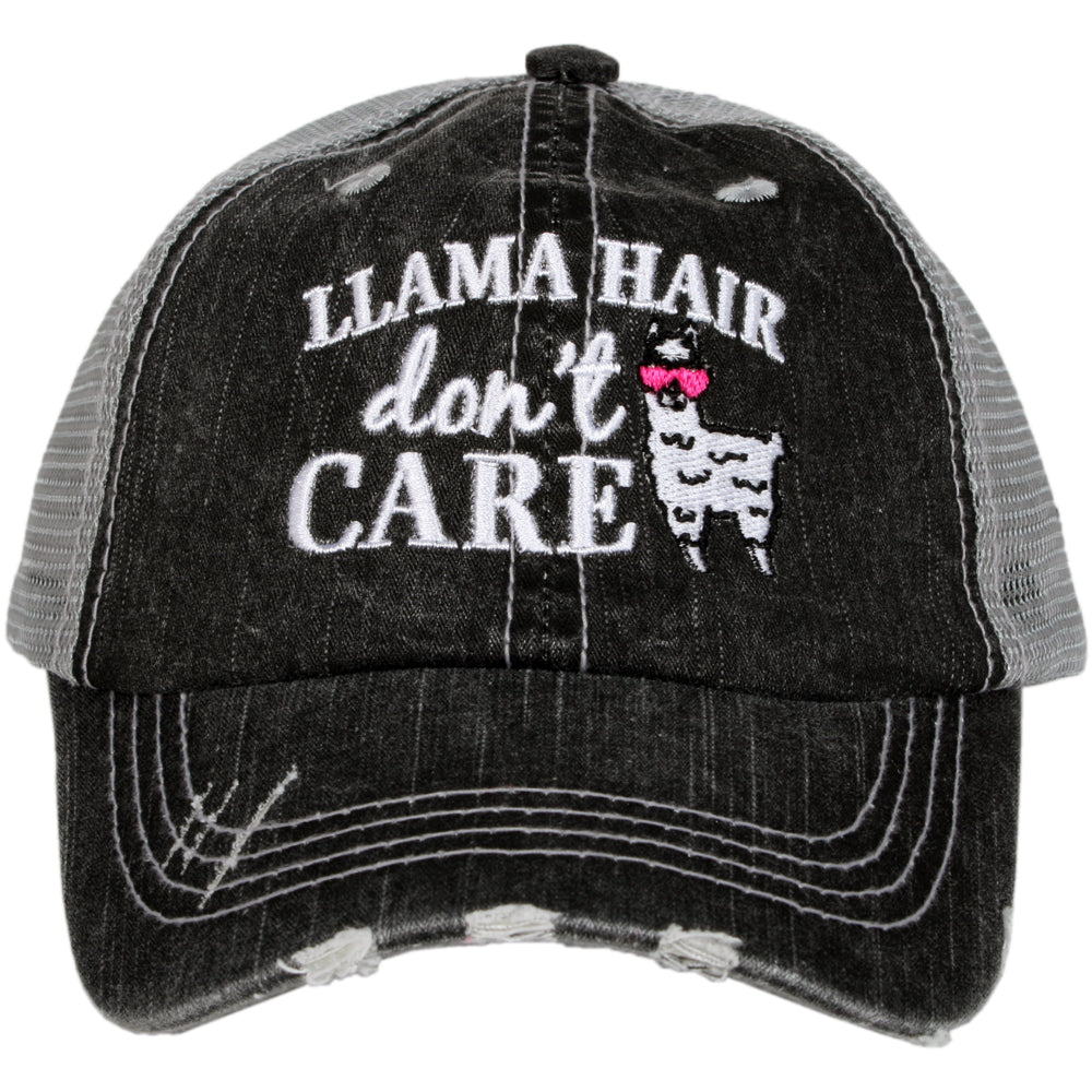 Katydid Llama Hair don't Care Wholesale KIDS Hats