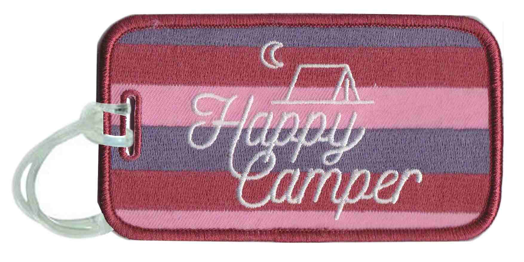 Happy Camper Wholesale Luggage Tags