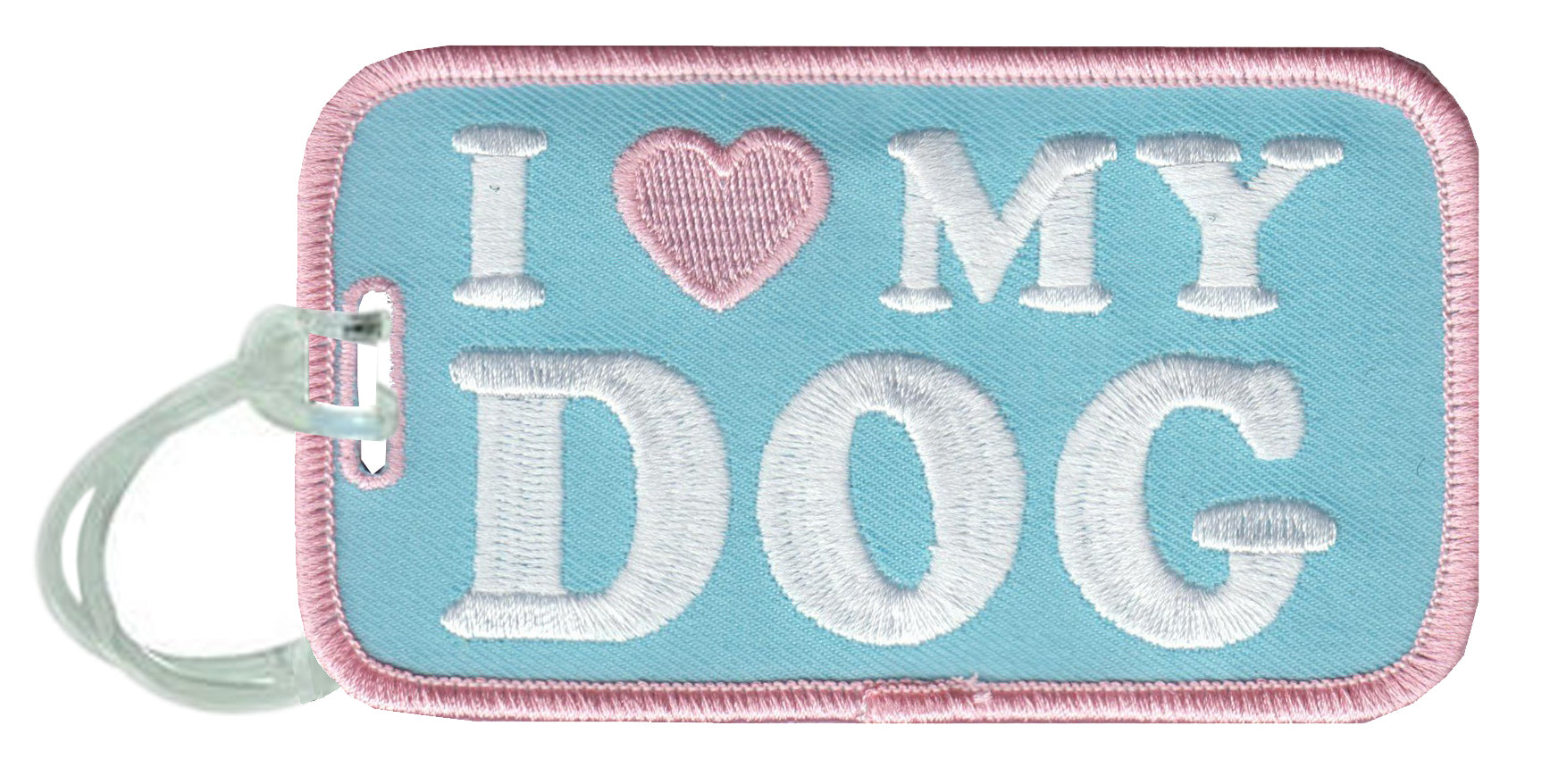 I Love My Dog Wholesale Luggage Tags