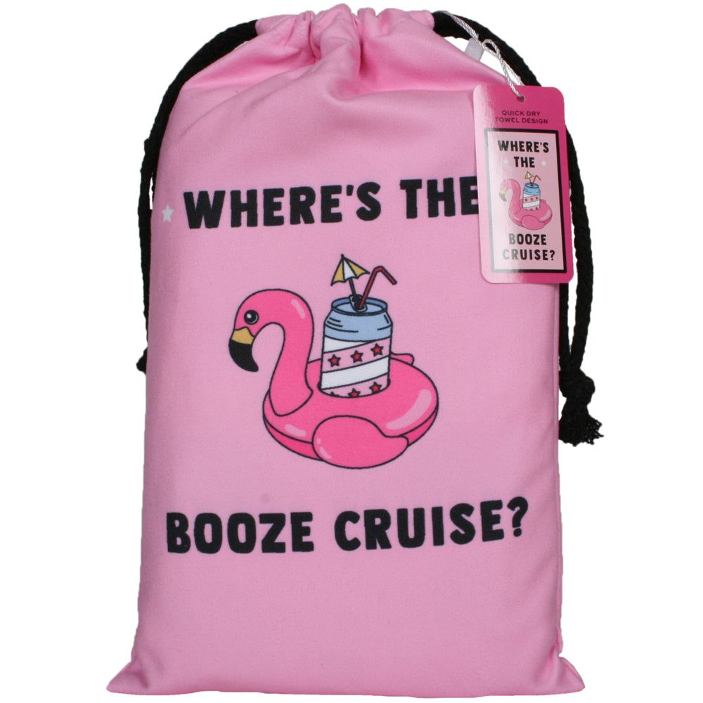 Booze Cruise Quick Dry Wholesale Beach Towel