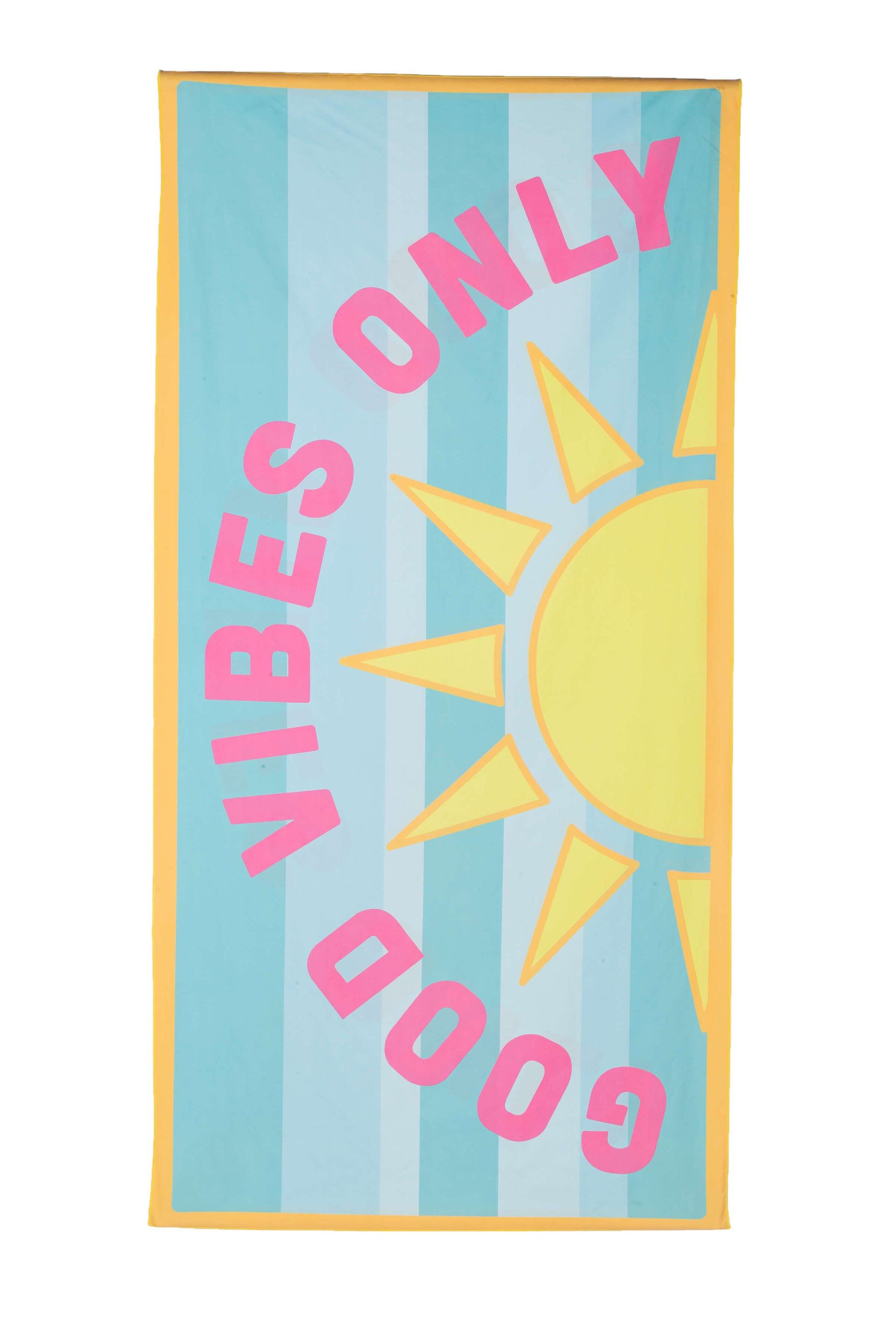 Good Vibes Only Quick Dry Wholesale Beach Towels