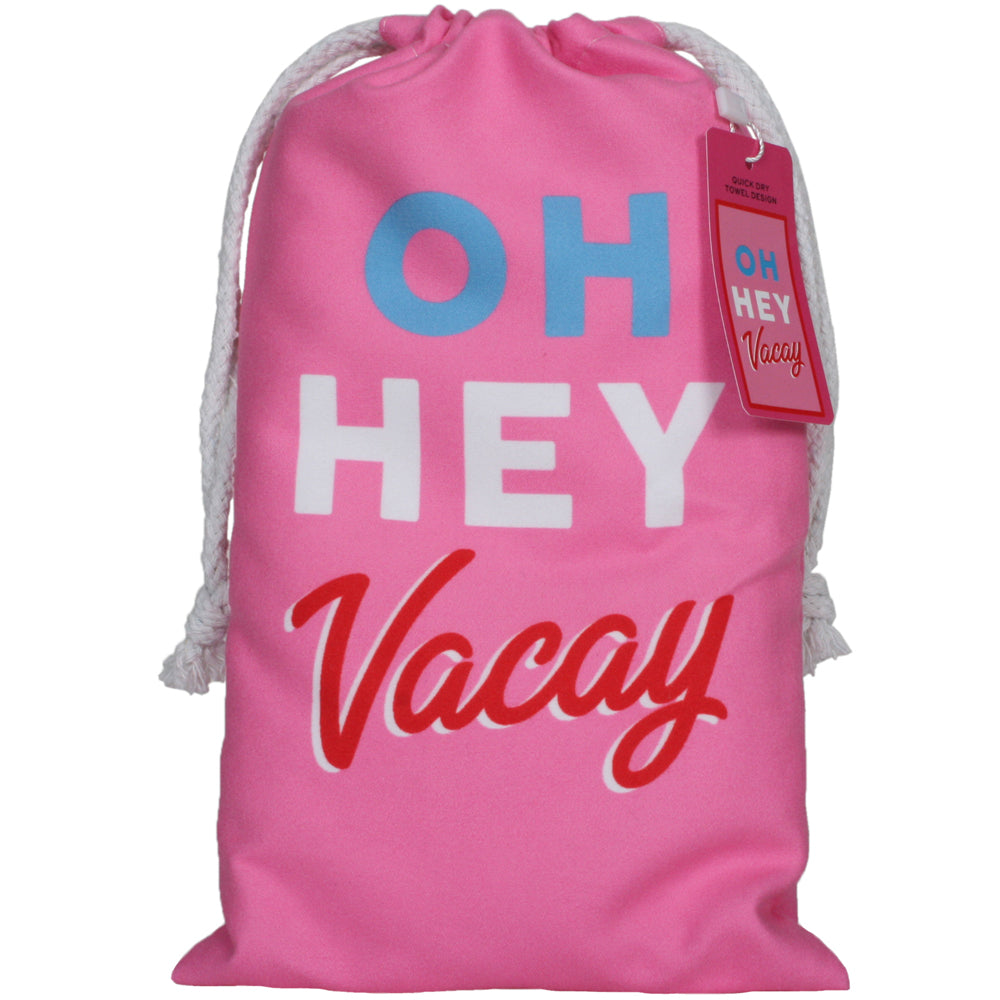 Oh Hey Vacay Quick Dry Wholesale Beach Towels