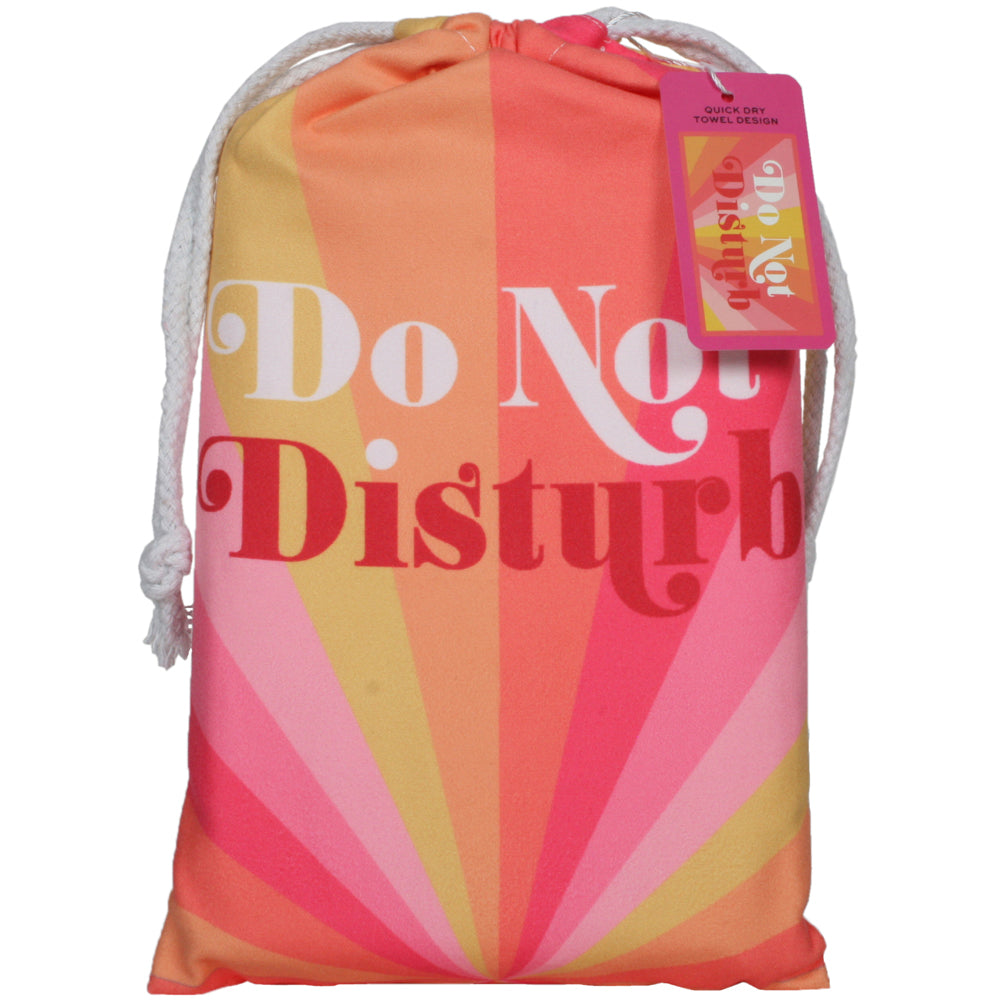 Do Not Disturb Quick Dry Wholesale Beach Towels