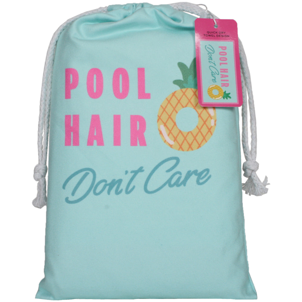 Pool Hair Don't Care Quick Dry Wholesale Beach Towels