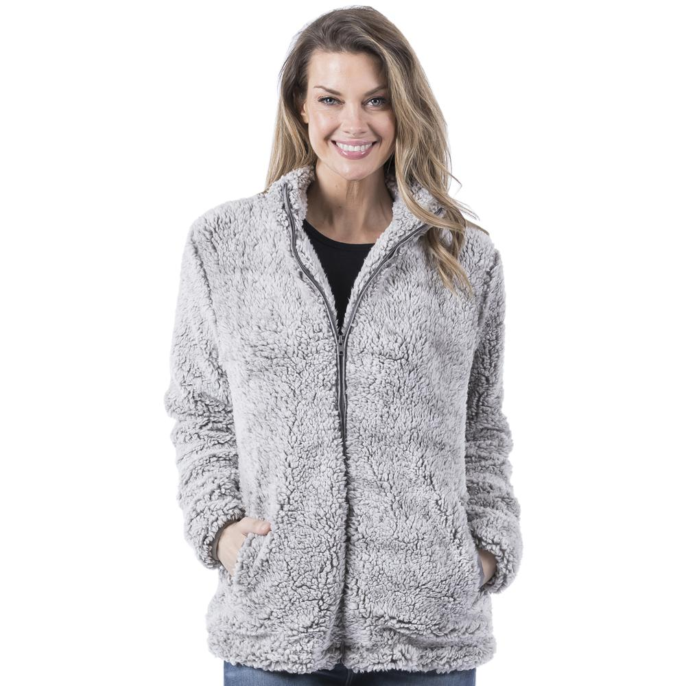 Gray Wholesale Sherpa JACKET for Women