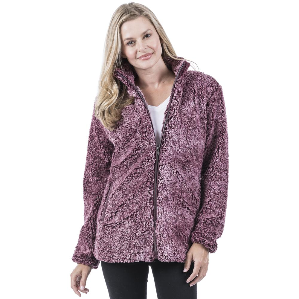 Wine Wholesale Sherpa JACKET for Women