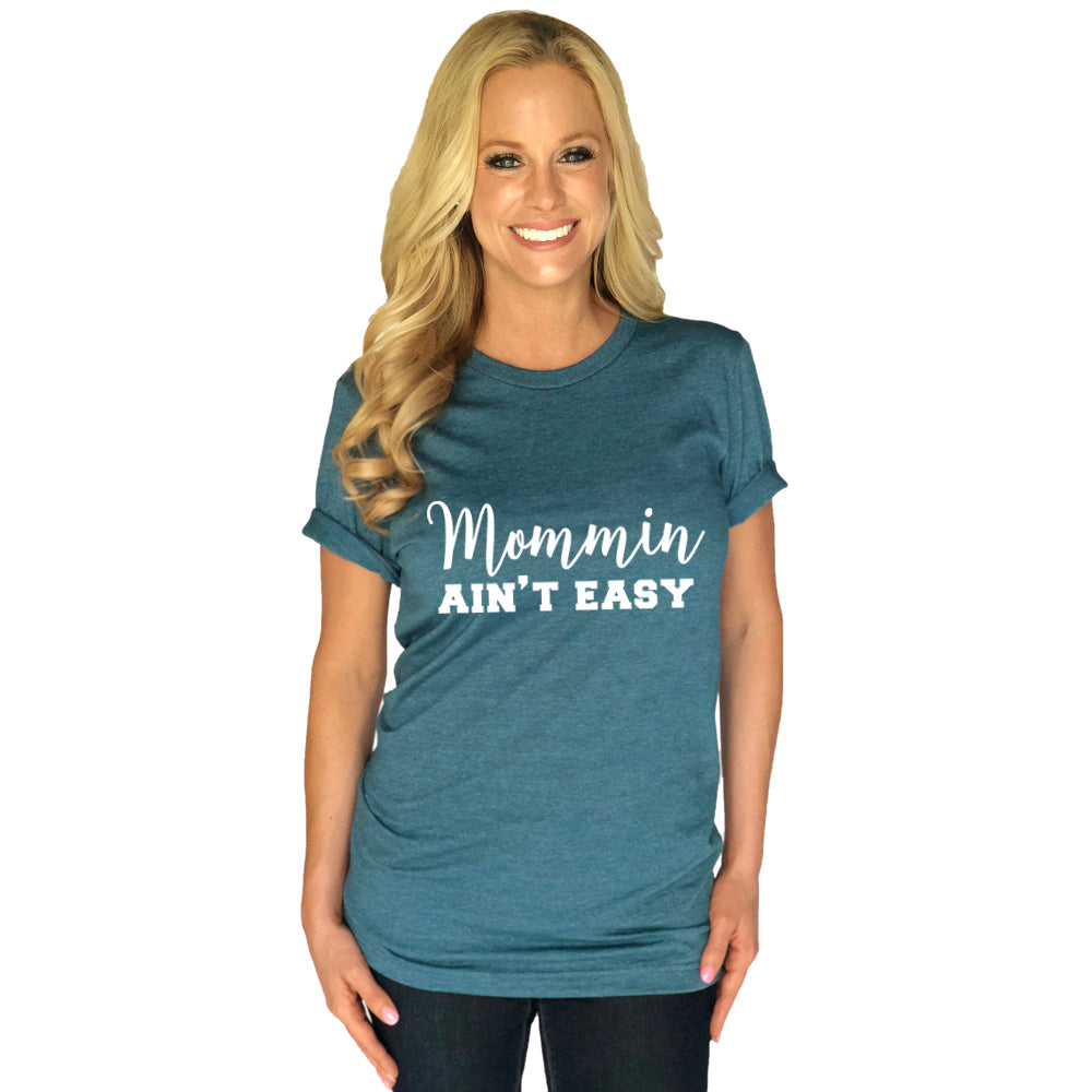 Katydid Mommin Ain't Easy Wholesale T-Shirts