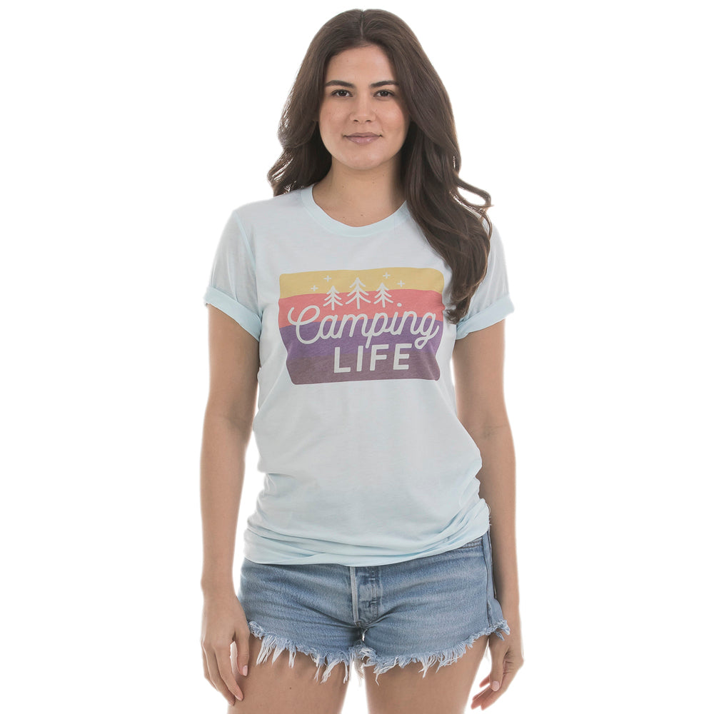 Camping Life Wholesale Women's Graphic T-Shirt