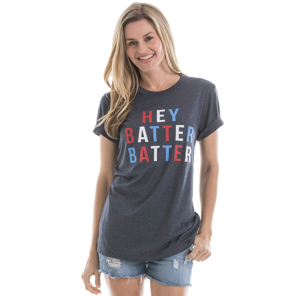 Katydid Hey Batter Batter Wholesale Baseball T-Shirts