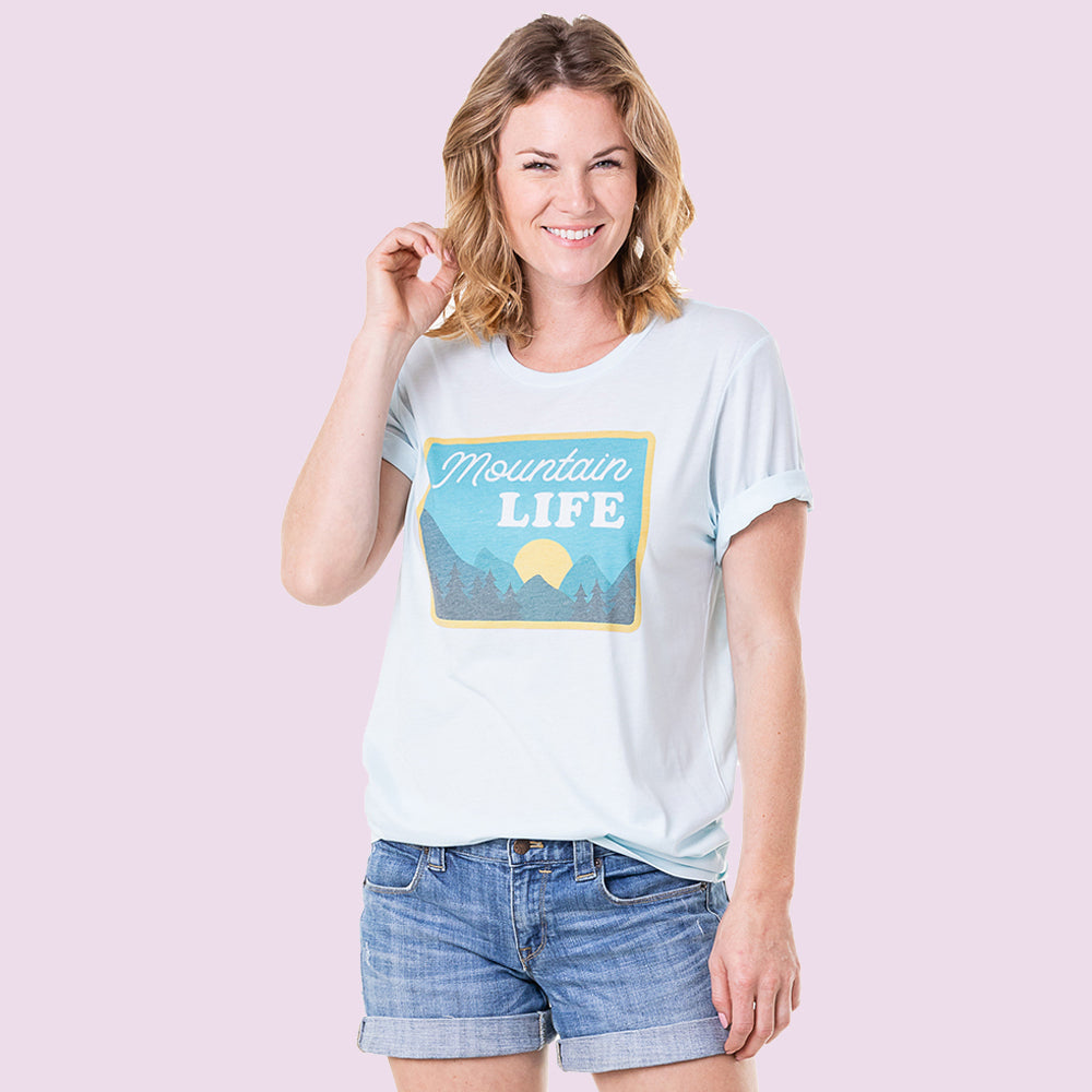 Katydid Wholesale Mountain Life Graphic T-Shirts