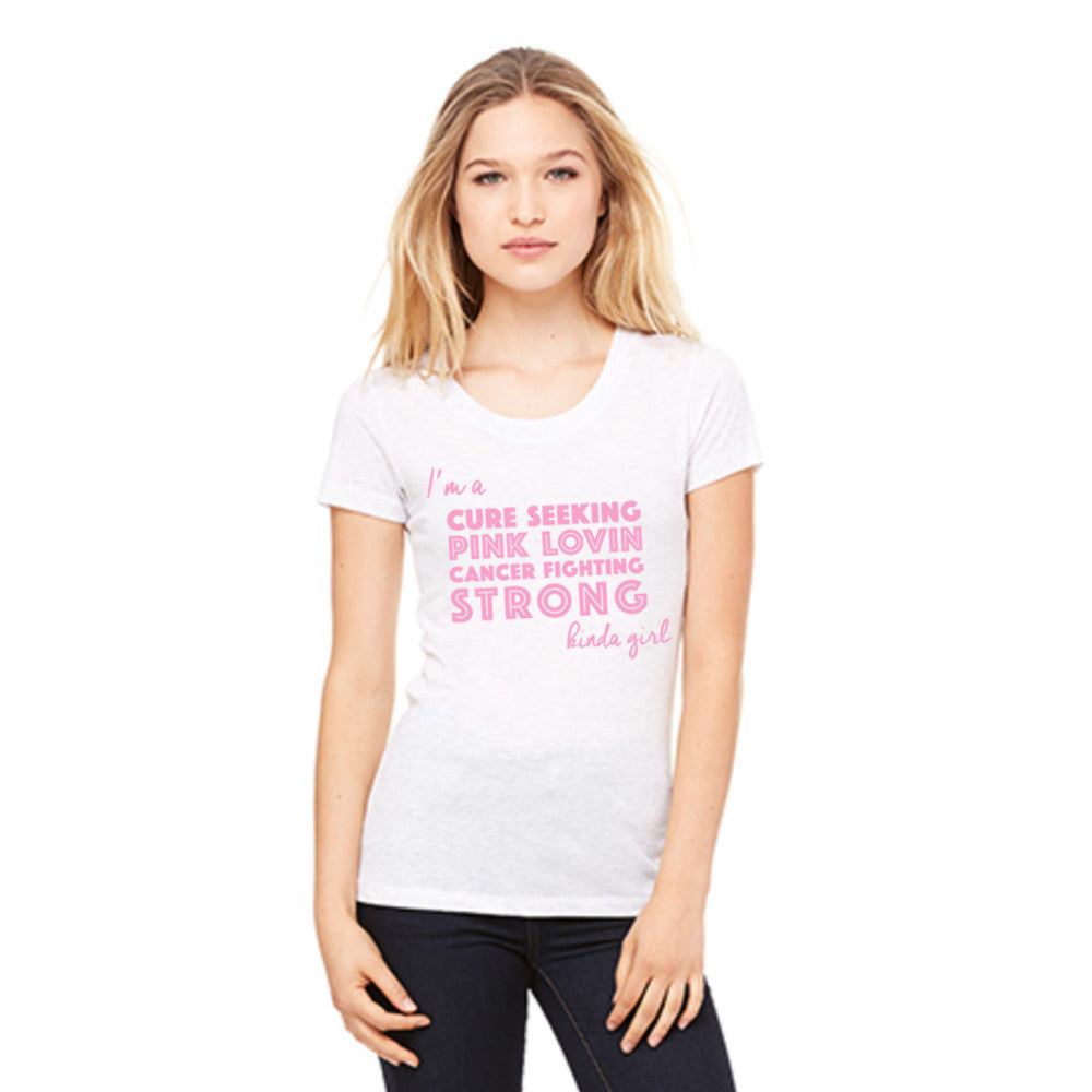 Katydid Cure Seeking Wholesale Pink Ribbon T-Shirts