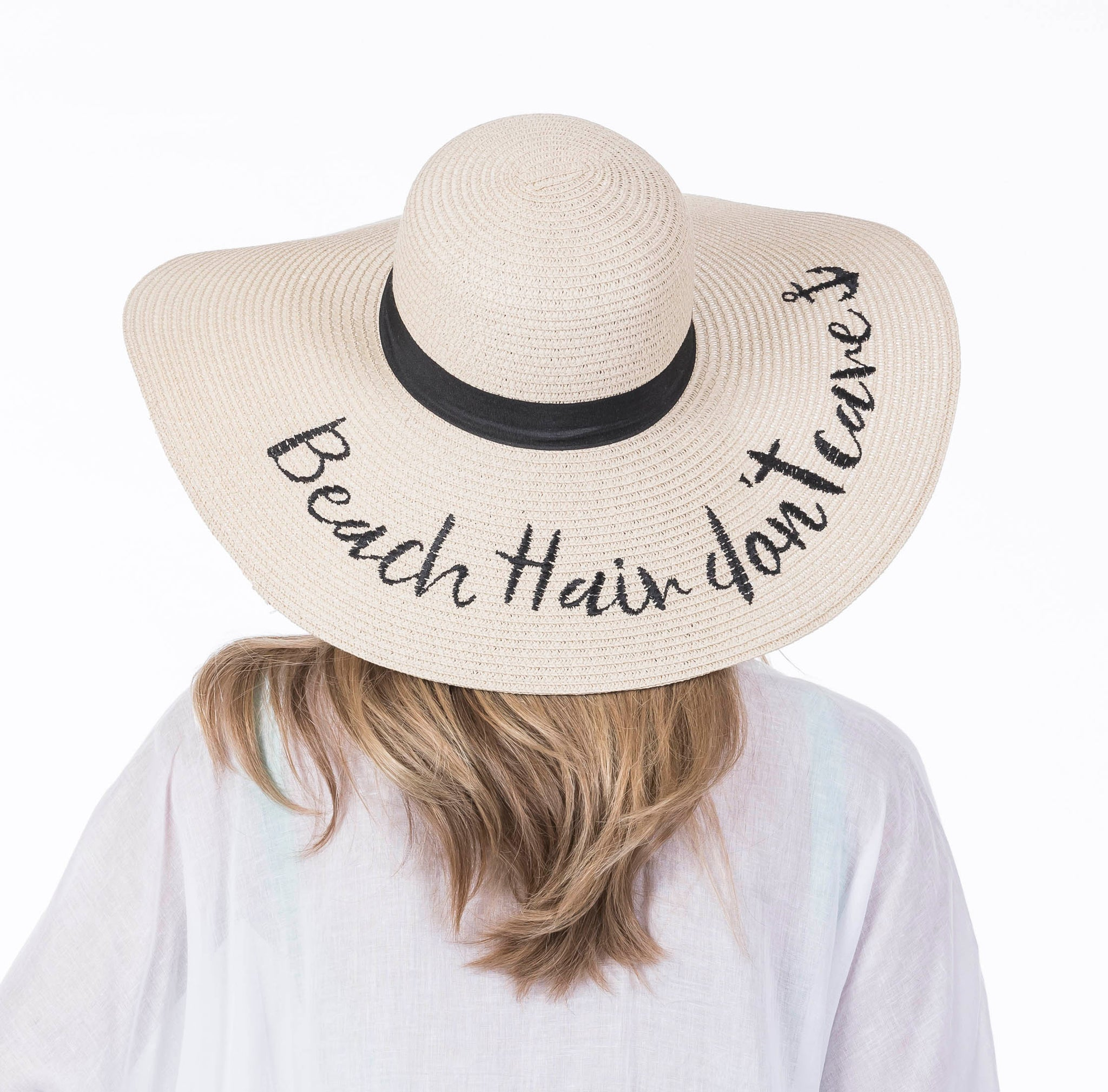 Beach Hair Don't Care Wholesale Sun Hats for Women