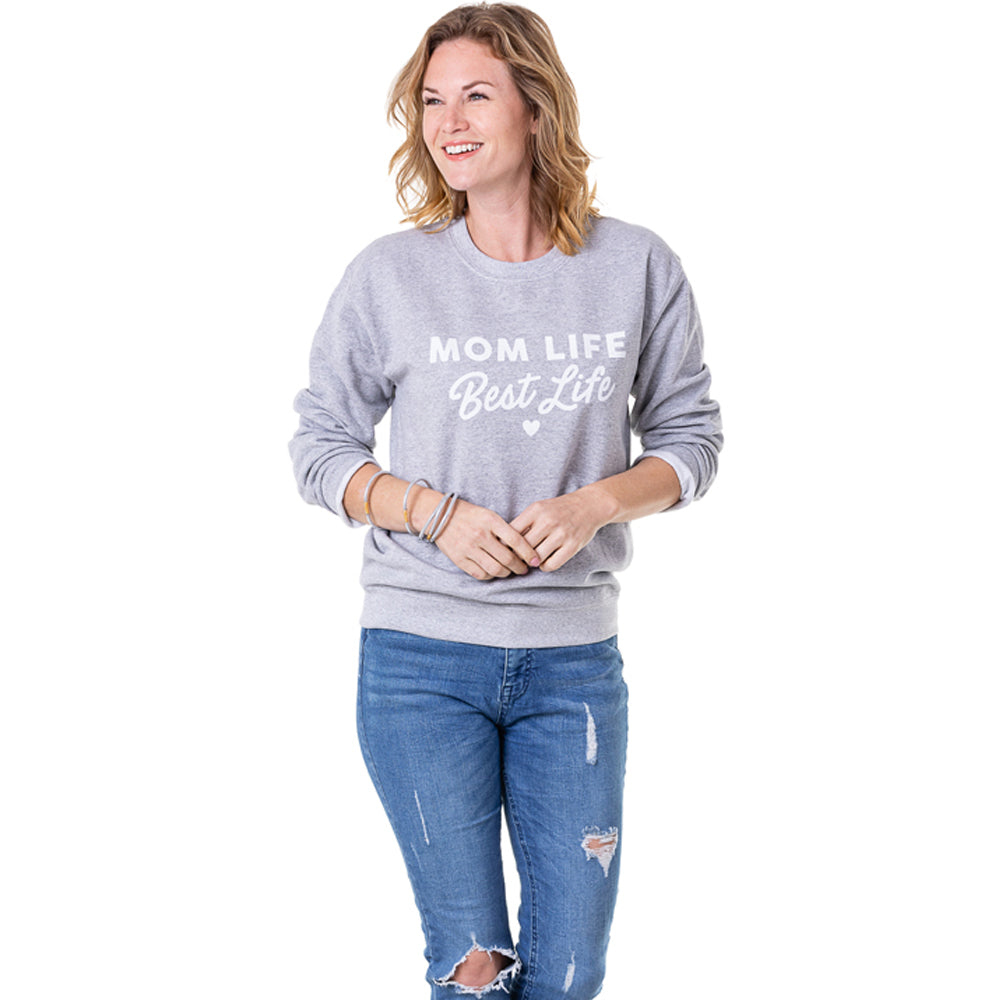 Katydid Mom Life Best Life Women's Wholesale Sweatshirts
