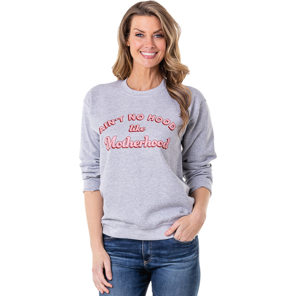 Katydid Ain't No Hood Like Motherhood Women's Wholesale Sweatshirts