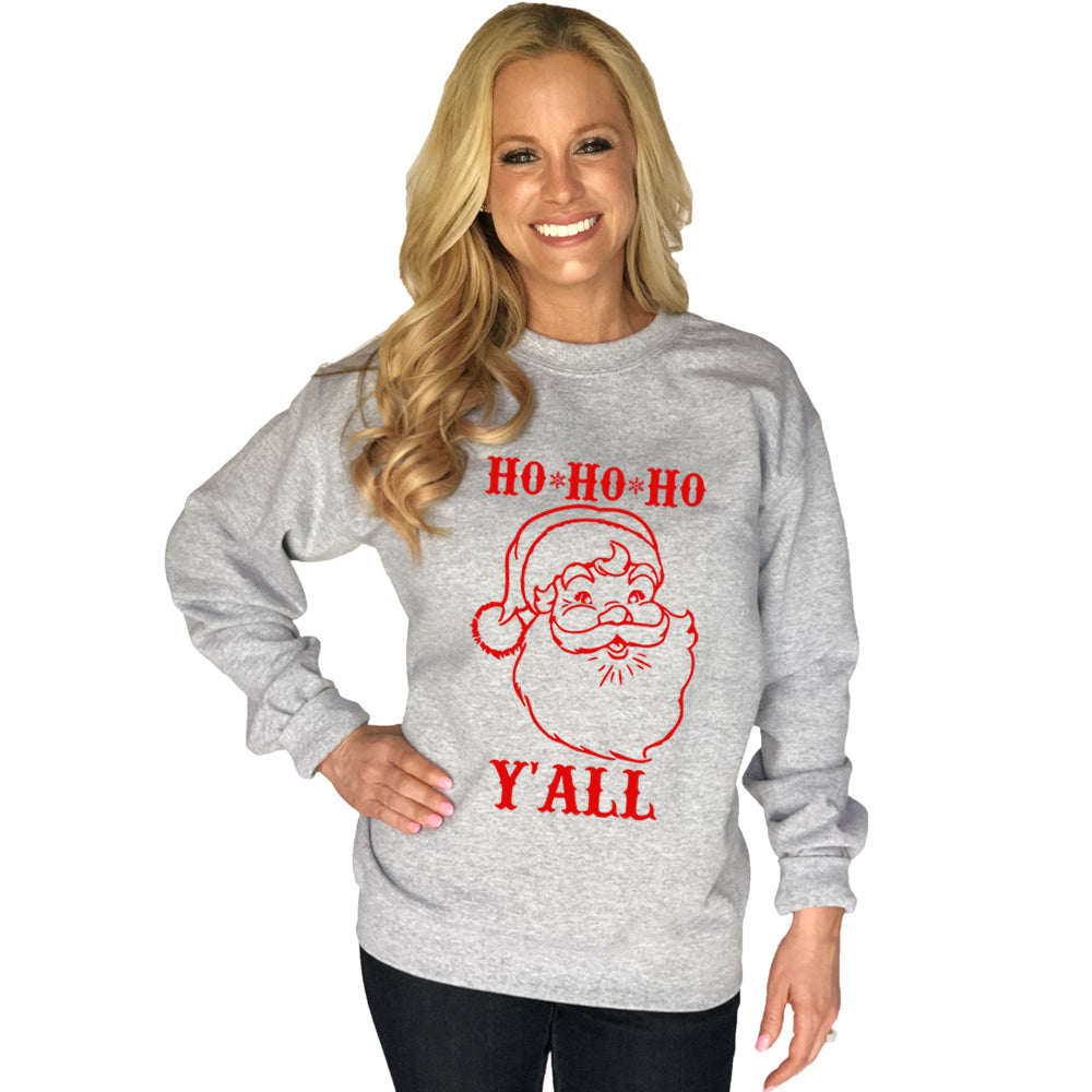 Katydid Ho Ho Ho Y'all Wholesale Sweatshirt