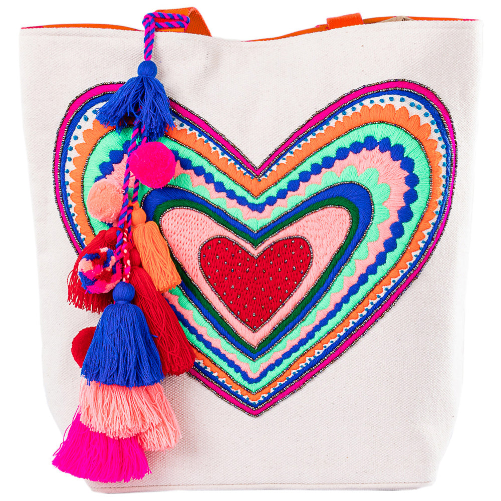 Heart Wholesale Handbags or Beach Bag