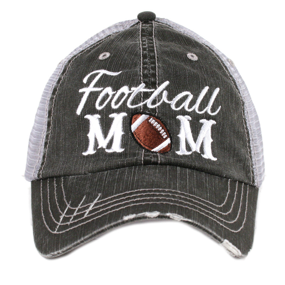 Katydid Football Mom Wholesale Trucker Hats - KatydidWholesale.com 9366f354783