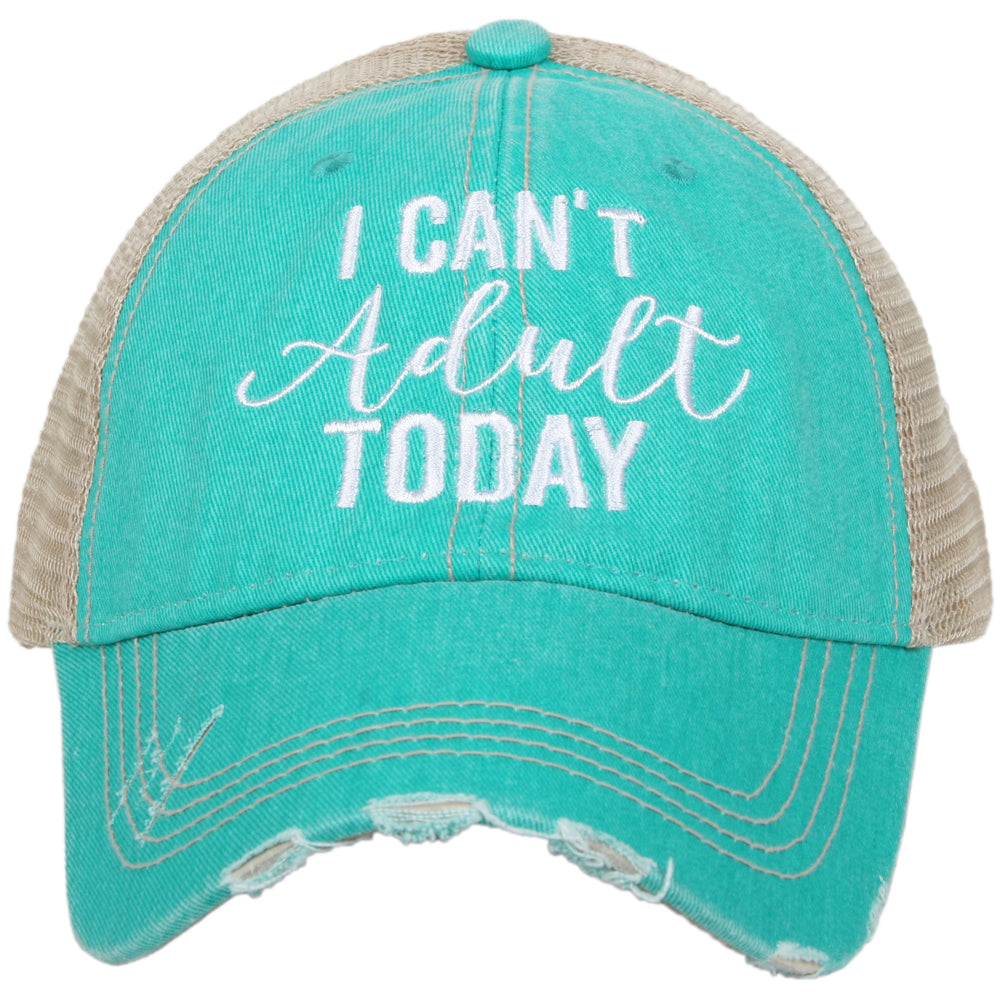 Katydid I Can't Adult Today Wholesale Trucker Hats