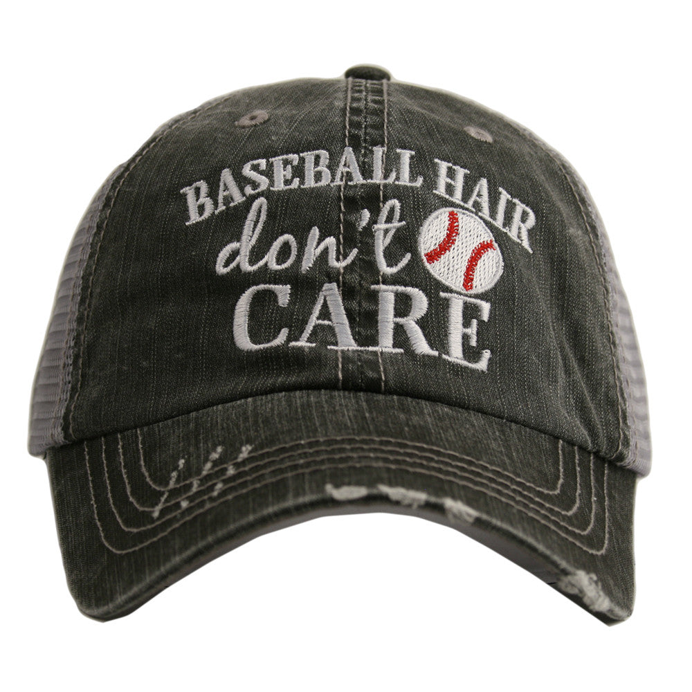 Katydid Baseball Hair Don't Care Wholesale Trucker Hats