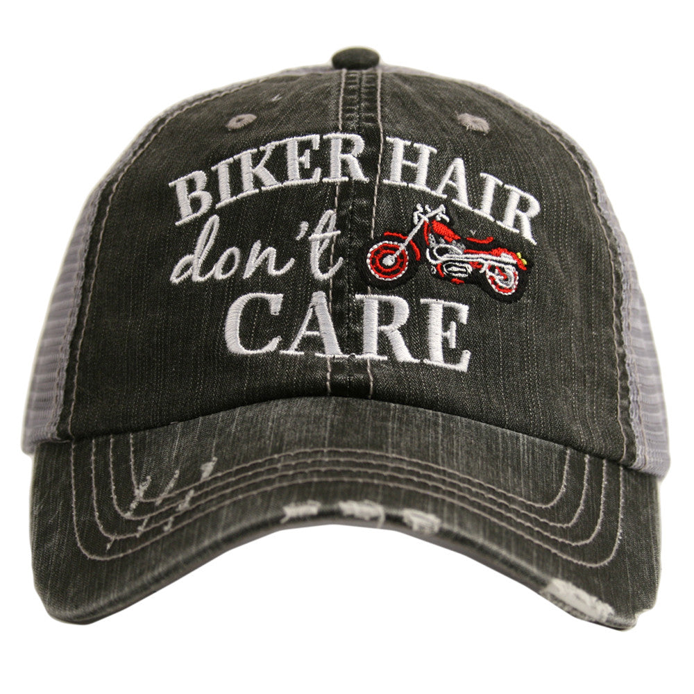 Katydid Biker Hair Don't Care Wholesale Trucker Hats