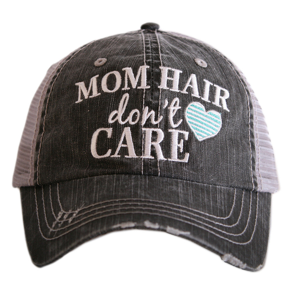 Katydid Mom Hair Don't Care Wholesale Trucker Hats