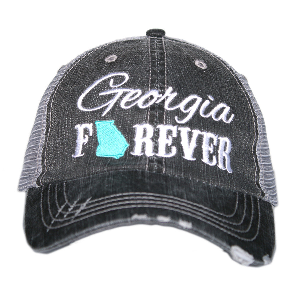 Wholesale Women's Trucker Hat—Georgia Forever