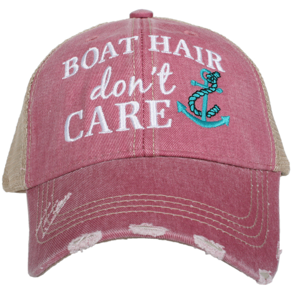 Katydid Boat Hair Don't Care Wholesale Trucker Hats