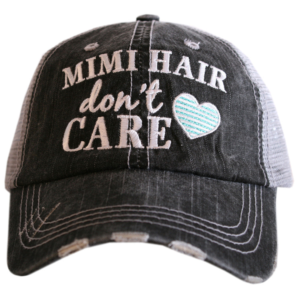 Katydid Mimi Hair Don't Care Wholesale Trucker Hats