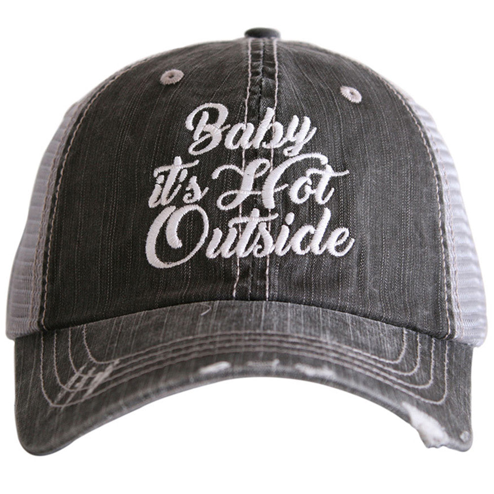 Katydid Baby It s Hot Outside Wholesale Trucker Hats - KatydidWholesale.com c8fed342149