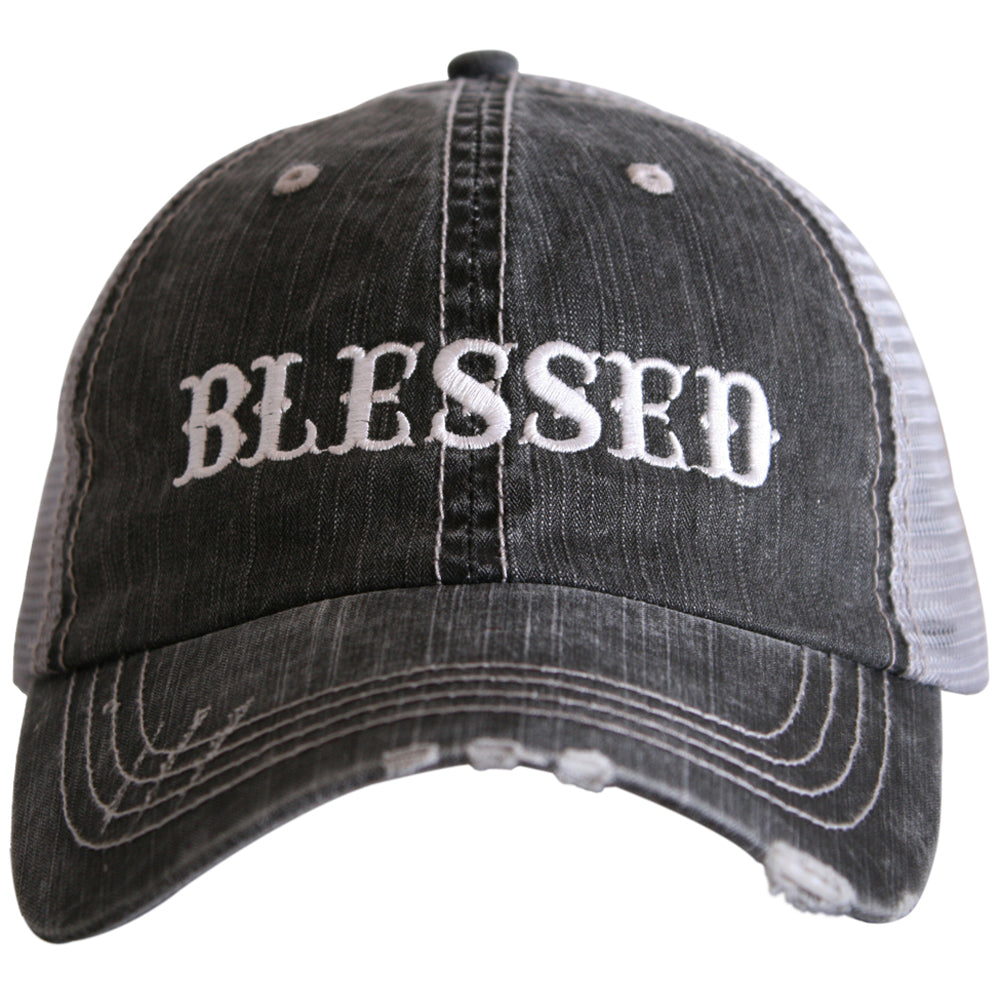 Katydid Blessed (New Font) Wholesale Trucker Hats