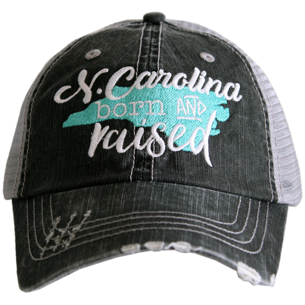 Katydid N. Carolina Born and Raised Wholesale Trucker Hats