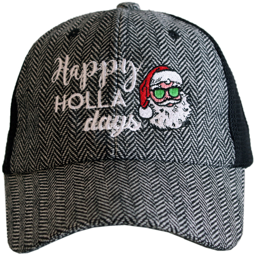 Katydid Happy Holla Days Wholesale Herringbone Hats