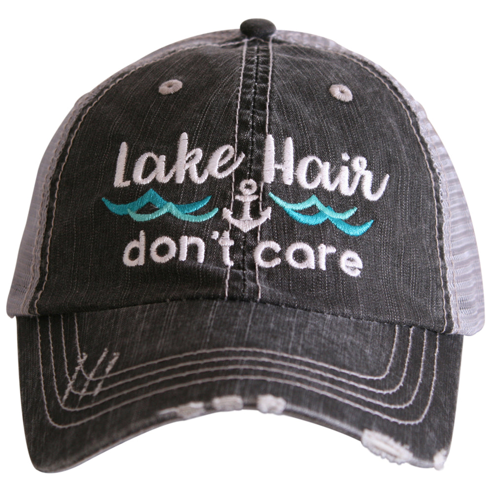 Katydid Lake Hair Don't Care WAVES Wholesale Trucker Hats