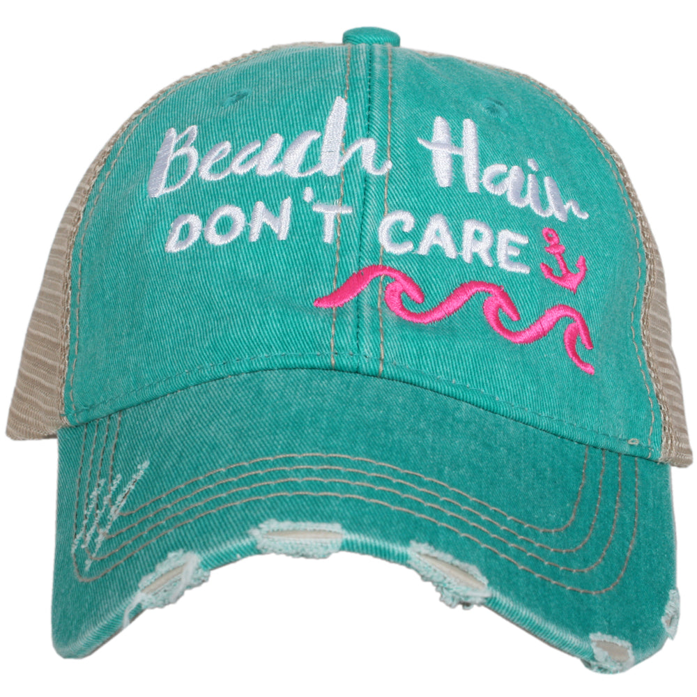 Katydid Beach Hair Don't Care WAVES Wholesale Trucker Hats