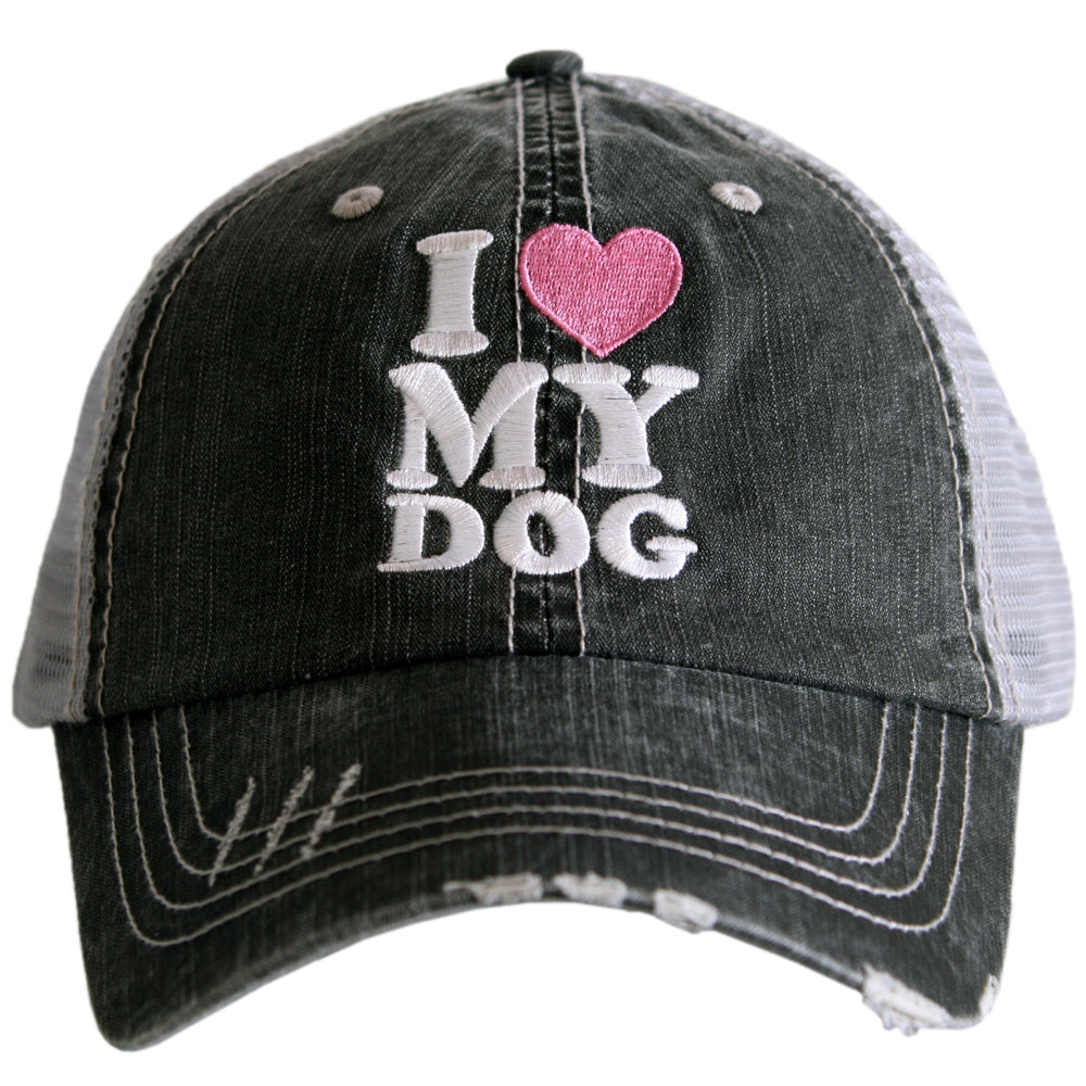I Love My Dog Wholesale Trucker Hats