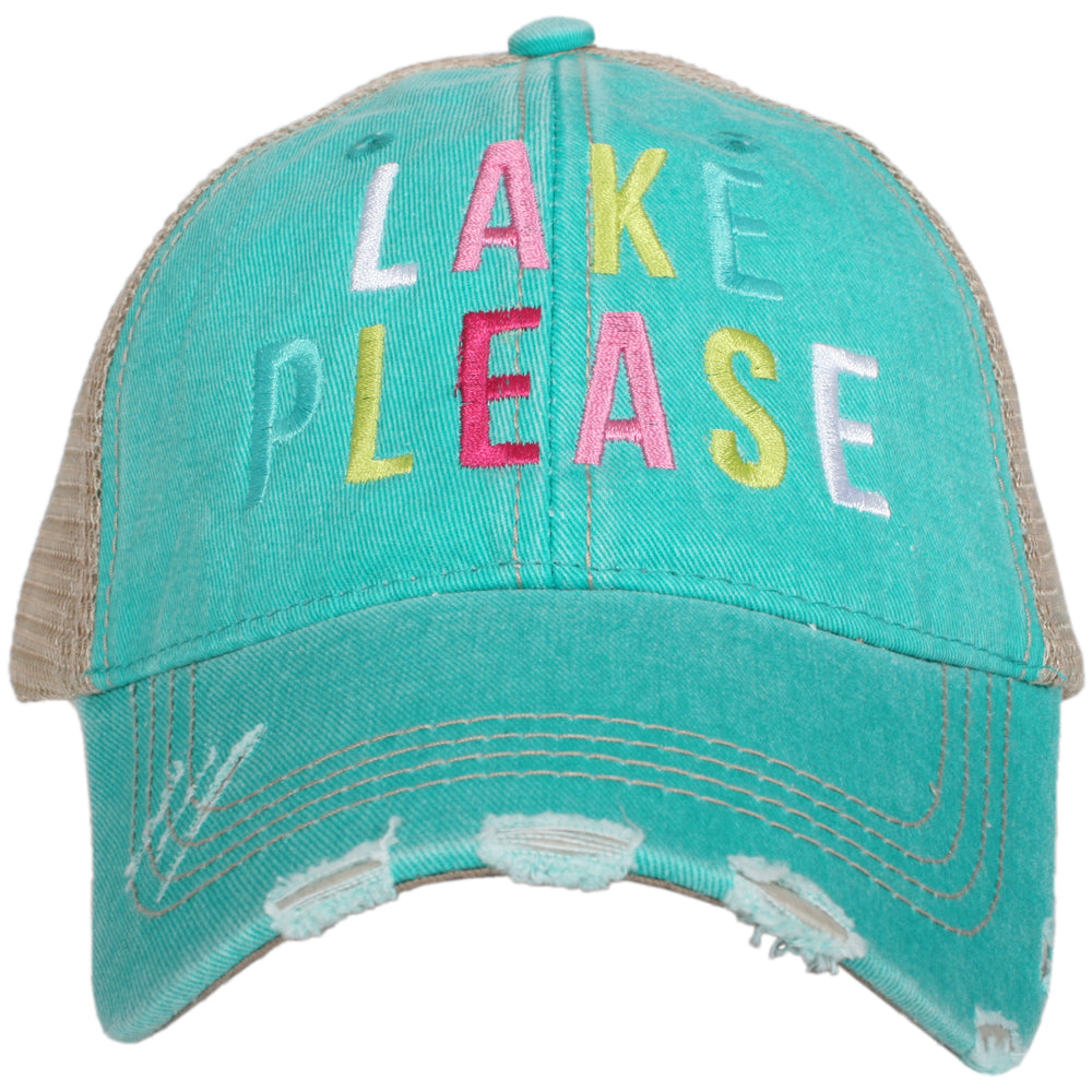 Katydid Lake Please (MULTICOLORED) Wholesale Trucker Hats