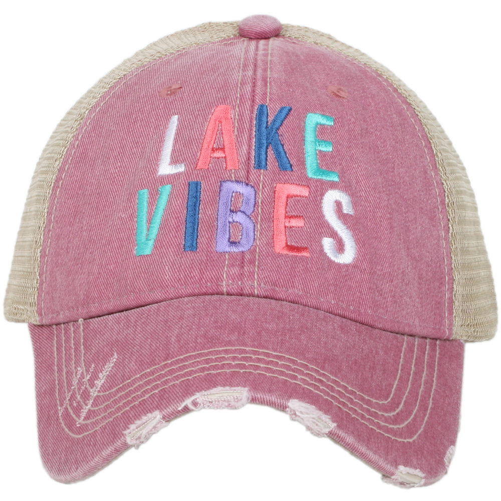Katydid Lake Vibes Wholesale Women's Trucker Hat