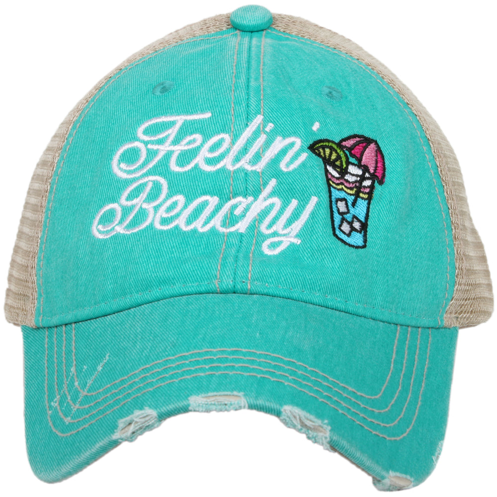 Katydid Feelin' Beachy Wholesale Trucker Hats
