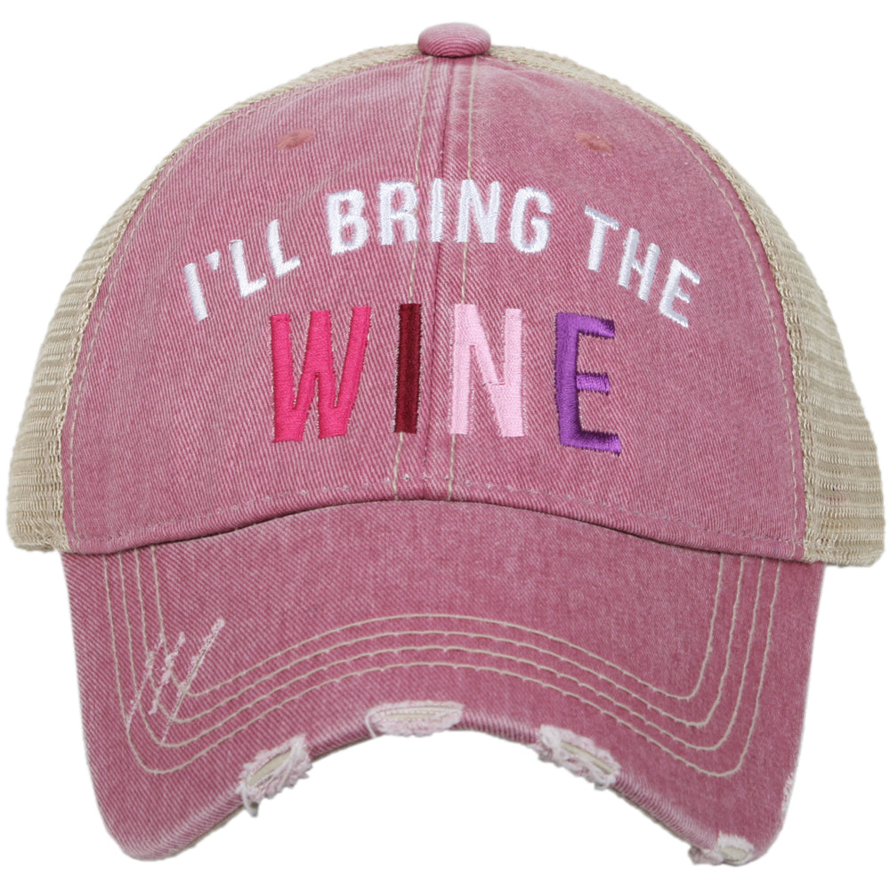 Katydid I'll Bring The Wine Trucker Hat Wholesale Trucker Hats