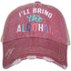 I'll Bring The Alcohol Trucker Hat Wholesale Trucker Hats 1