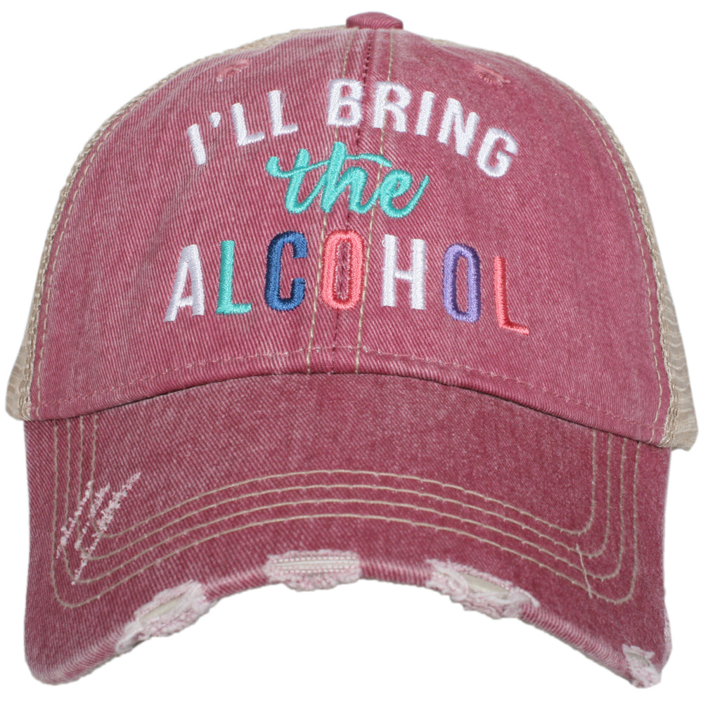 Katydid I'll Bring The Alcohol Trucker Hat Wholesale Trucker Hats