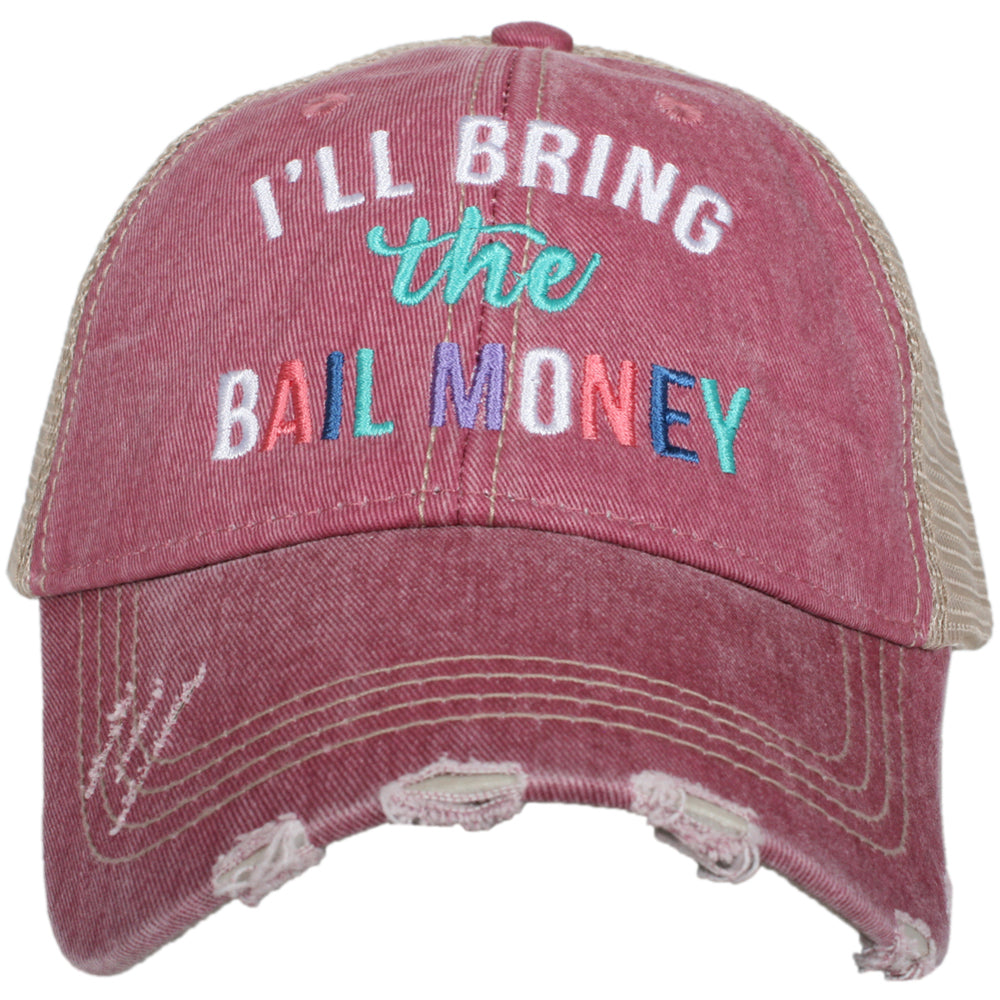I'll Bring The Bail Money Trucker Hat Wholesale Trucker Hats