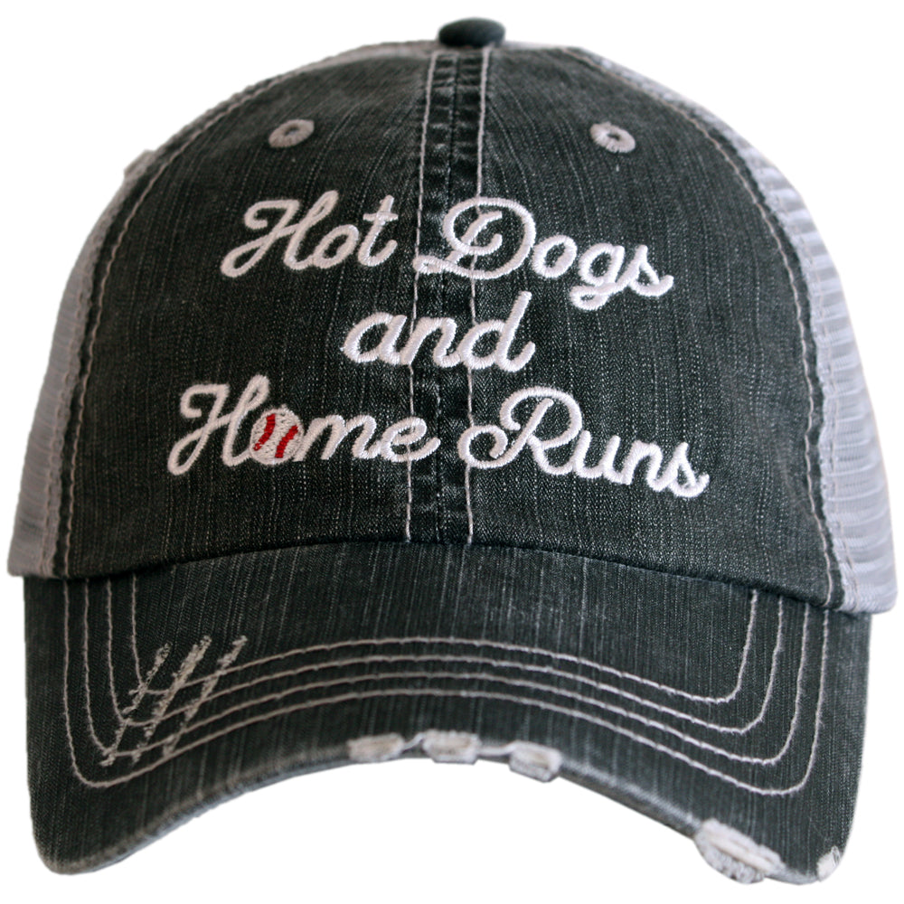 Katydid Hot Dogs and Home Runs Wholesale Trucker Hats
