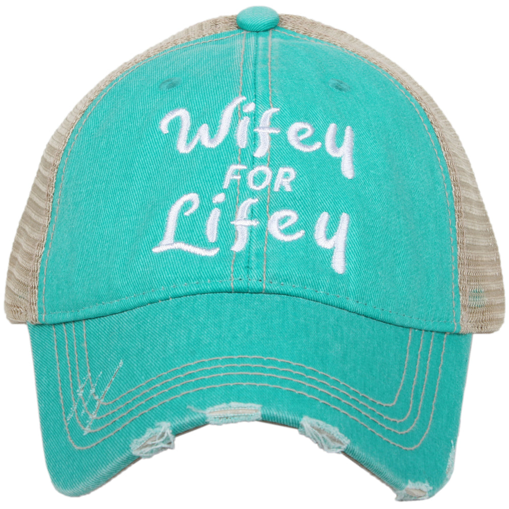Wifey For Lifey Trucker Hat