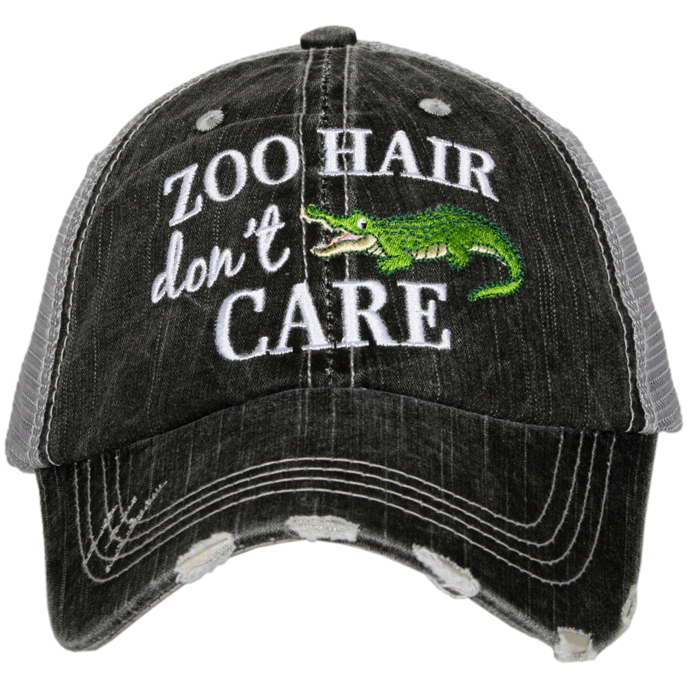 Katydid Zoo Hair Don't Care Alligator Wholesale Trucker Hats