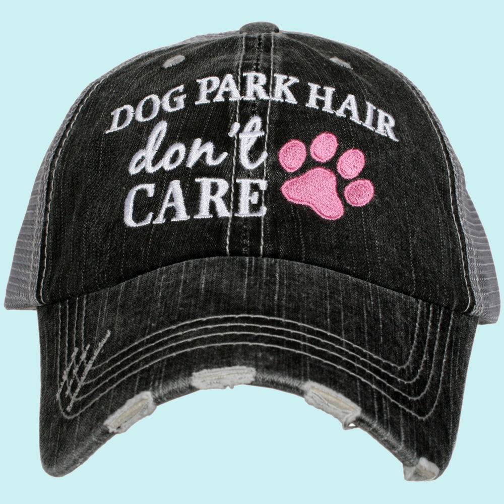 Katydid Dog Park Hair Don't Care Wholesale Trucker Hats