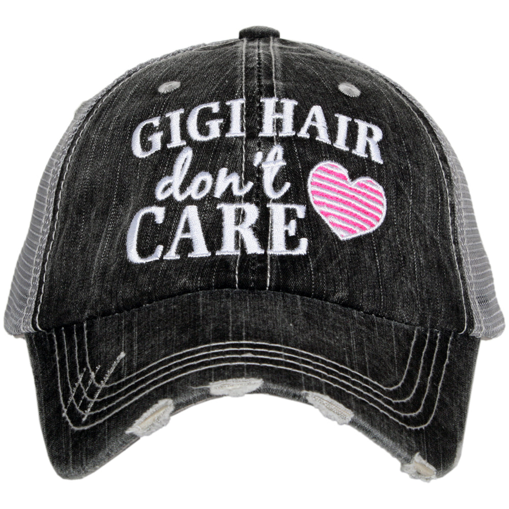 Katydid Gigi Hair Don't Care Wholesale Trucker Hats