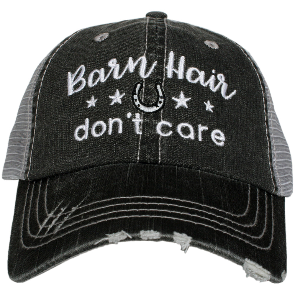 Katydid Barn Hair Don't Care w/ STARS Wholesale Trucker Hat