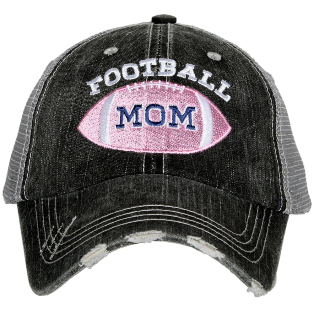 Pink Football Mom Wholesale Trucker Hats
